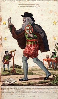 «Portrait véritable et remarquable du fameux Michel Nostradamus astrologue célèbre».