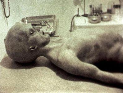 L'alien de Roswell.