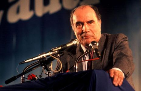 Francois Mitterrand.