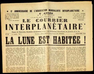 «La Lune est habitee !»