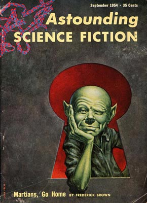 «Martians, go Home!» de Fredric Brown, 1955.