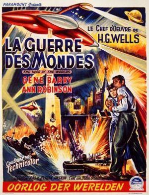 «La Guerre des Mondes» au cinema.