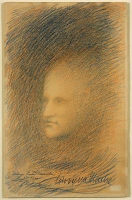 «medium Fernand Desmoulin Xeme 1900», 1900
