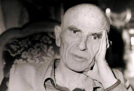Portrait d'Aimé Michel en 1990