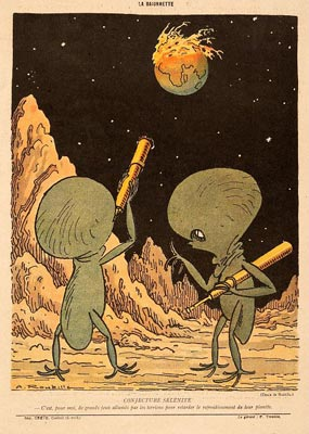 «La Guerre vue des autres planetes» XI.