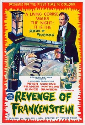 """""""Revenge of  Frankenstein"""", 1958"""