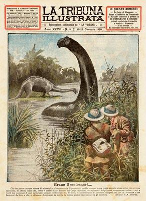 Des brontosaures vivants dans les marais africains ?