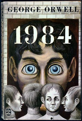 """""""1984"""", Big Brother is watching you"""