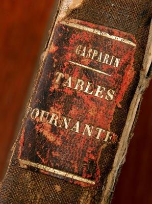 Agenor de Gasparin, Les Tables tournantes, piece de titre, 1888