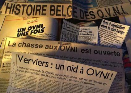 Coupures de presse sur la vague d'ovnis en Belgique, 1989-1990