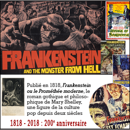 Frankenstein 200 ans Marry Shelley