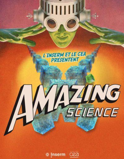 Expo Amazing Science INSERM CEA