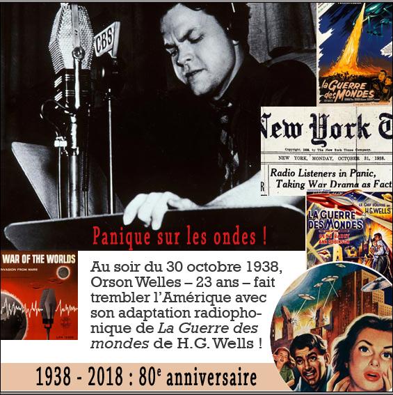 Panique martienne by Orson Welles - 80 ans